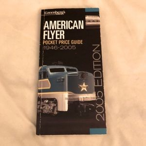 American Flyer Pocket Price Guide 1946-2005 book
